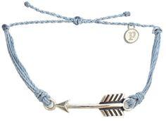 Silver Arrow Columbia Blue | Pura Vida Bracelets