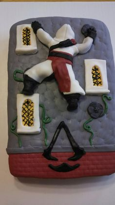 Assassins Creed cake