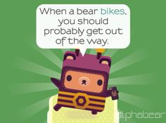Recommended. #circus #alphabear