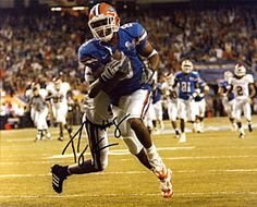 Percy Harvin Autographed / Signed 8x10 Photo - University of Florida - iDealSports
