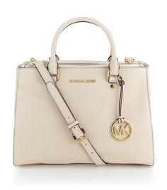 white elegance #Michael by Michael Korrs Perfect Bag