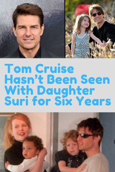 Tom Cruise's relationship have long been fodder for conspiracy theories. The fact he's not been seen with his daughter for six years add fuel to the fire. Hollywood Actor, Hollywood Celebrities, L Ron Hubbard, Police Memes, Church Of Scientology, Modern Mehndi Designs, Children Photography, Nature Photography, Couples Images