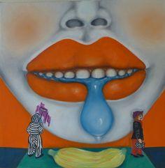 """Saatchi Art Artist Ta Thimkaeo; Painting, """"Lips"""" #art"""
