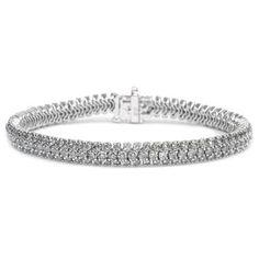 Diamantarmband mit 6.00 Karat Diamanten aus 585er Weißgold bei www.diamantring.be für nur 7300.00 Euro Versandkostenfrei bestellen.