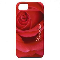 Red Rose Close-up iPhone 5 Cover by FloralbyFred $46.00
