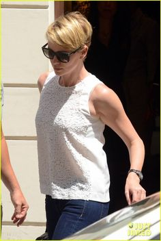Charlize Theron: Rome Shopping Spree!   charlize theron rome shopping spree 02 - Really Short Hair, Short Hair Cuts, Short Hair Styles, Pixie Cuts, Rome Shopping, Shopping Spree, Charlize Theron Style, Celebs, Celebrities
