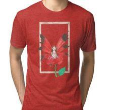 Rose Secret Fairy-blend T-Shirt Chiffon Shirt, Chiffon Tops, Long Hoodie, Wearable Art, Laptop Sleeves, Legends, Classic T Shirts, Shirt Designs, Mini Skirts