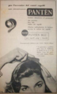 """www.piziarte.net La pubblicità negli anni 50 """"Panten"""" dalla rivista settimanale """"Il Tempo"""" 1954"""
