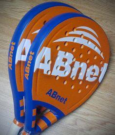 Diseño de palas de padel personalizadas ABnet