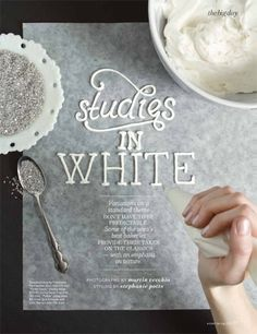 Studies in White