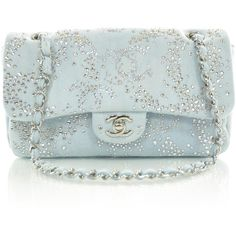 CHANEL Denim Quilted Swarovski Crystal Flap this.is probably the prettiest chanel bag i have ever seen Gucci Purses, Chanel Handbags, Purses And Handbags, Chanel Purse, Chanel Bags, Chanel Chanel, Jean Purses, Denim Handbags, Quilted Handbags