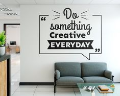 Get in touch if… 👉👍 Hong Kong Office Interior Design Inspiration?Get in touch if you need advice! Office Wall Design, Office Wall Decals, Office Walls, Office Art, Office Interior Design, Office Interiors, Wall Sticker, Office Decor, Office Wall Graphics