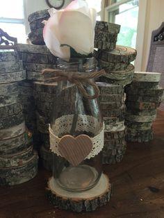 10 Milk bottle vase Rustic wedding centerpiece vase barn country tree branch flower vase by SunshinesSurprises on Etsy https://www.etsy.com/listing/486226351/10-milk-bottle-vase-rustic-wedding