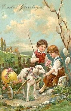 A VICTORIAN EASTER