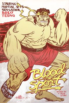 Blood Sport Bolo by ~Andrew-Ross-MacLean on deviantART