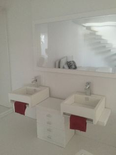 Bathroom sinks Miniature Double Vanity Unit Collection no.2