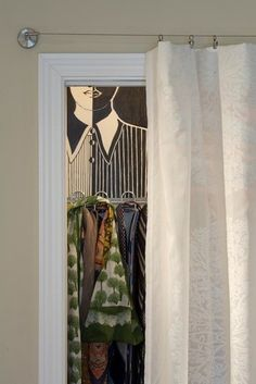 1000 ideas about door alternatives on closet 88296