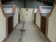 internal brick stable