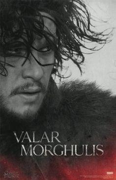 GAME OF THRONES WHITE WALKER 24x36 poster HBO TV SEASON 6