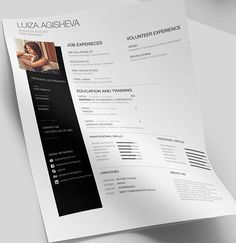 Free Minimalistic  Clean Resume  Ps  Ai On Behance  Art Bank