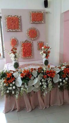 32 Ideas For Modern Art Deco Wedding Decor Diy Diwali Decorations, Stage Decorations, Festival Decorations, Flower Decorations, Art Deco Wedding Decor, Wedding Hall Decorations, Flower Decoration For Ganpati, Ganesh Chaturthi Decoration, Ganapati Decoration