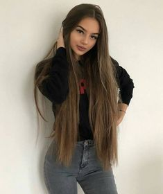 Best Human Hair for Arican American Black Women!Do you guys like this gorgeous. - My list of the most beautiful women's hair styles Pretty Hairstyles, Straight Hairstyles, Black Hairstyles, Long Hair Tumblr, Pinterest Hair, Very Long Hair, Straight Long Hair, Beautiful Long Hair, Beast Mode