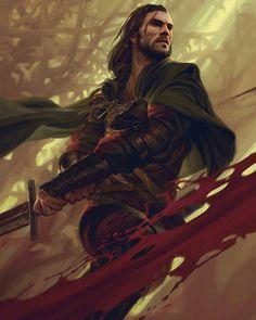 Jonas, a espada justiceira. Humano, guerreiro, herói