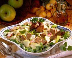 Lajos Mari konyhája - Almás-hagymás csirkemájsaláta Potato Salad, Potatoes, Ethnic Recipes, Food, Kitchen, Cooking, Potato, Essen, Kitchens