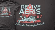 Bring Her Back! | Qwertee : Limited Edition Cheap Daily T Shirts | Gone in 24 Hours | T-shirt Only £8/€10/$12 | #finalfantasy #aeris