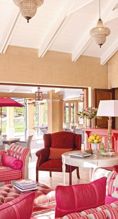 La Residence hotel - Garden Route & Winelands, South Africa. Presiding over the valley of vines in Franschhoek, La Residence hotel is a mini, modern Versailles with a contemporary shell and a romantic colonial interior.