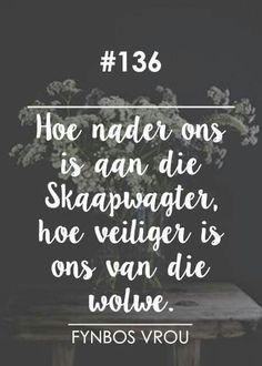 Veilig naby ons Skaapwagter (Die Here is my Herder) __[Fynbos Vrou/FB] # 136…
