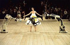 Spray-painted dress, No. 13, Spring/Summer 1999