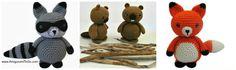 Amigurumi Woodland Animal Patterns Free - Amigurumi To Go!