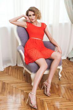 Rochie PrettyGirl Express Yourself Red - https://tidy.ro/produs/rochie-prettygirl-express-yourself-red/