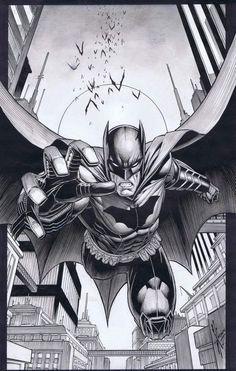 Batman #9 Cover (2012) Comic Art For Sale By Artist Dale Keown at Romitaman.com