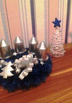 organzový vánoční věnec