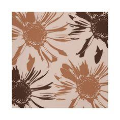 Earthy Gerbera Flowers canvas wall art