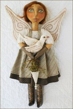 doll with wings