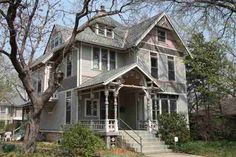 """Carnival of Souls"" house - 1899 Queen Anne, Lawrence, KS"