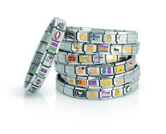 www.nomination.co... www.nomination.com #nominationitaly #jewellery #jewels #bijoux #gioielli #joias #joyas #schmuck #smykke Nomination Bracelet, Nomination Charms, Different Languages, Say Hello, Love Fashion, Wedding Jewelry, Around The Worlds, Charmed, Italy