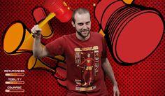 Camiseta Bionic Sledgehammer.