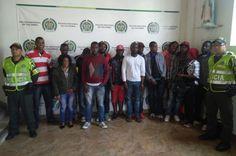 Detenidos16 inmigrantes ilegales de nacionalidad haitiana, entre ellos 02 menores.