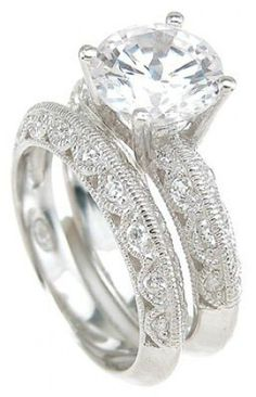 Vintage Wedding Rings - when the time comes...