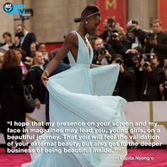 lupita nyong'o  quote to young girls - Google Search