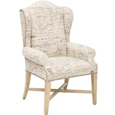 Sanctuary Wing Back Arm Chair* $749.00