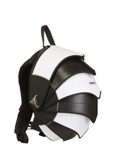 CYCLUS - LIMIT.ED B&W RECYCLED PANGOLIN BACKPACK - LUISAVIAROMA - Coolest backpack ever.