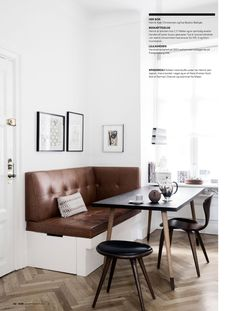 ISSUU - Elle decoration may 2015 uk by fghfgh Nordic Home, Living Spaces, Living Room, Compact Living, Kitchen Nook, Elle Decor, Relax, Interior Design, Architecture