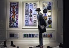 "Saks Fifth Avenue, NYC, ""Happy Father's Day to new,old and soon-to-be-dads!"", pinned by Ton van der Veer"