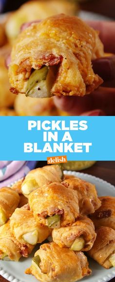Pickles In A Blanket, Crescent Rolls, Snacks, Appetizers, Lunch jalapeno recipes appetizers pilsbury recipes appetizers fingerfood recipes appetizers nabisco recipes appetizers pepperoni recipes appetizers Finger Food Appetizers, Appetizers For Party, Appetizer Recipes, Snack Recipes, Cooking Recipes, Cooking Games, Appetizer Ideas, Simple Appetizers, Cookbook Recipes