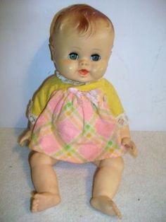 Vintage Sun Rubber Babee Bee Doll SunBabe Ruth Newton (03/31/2011)